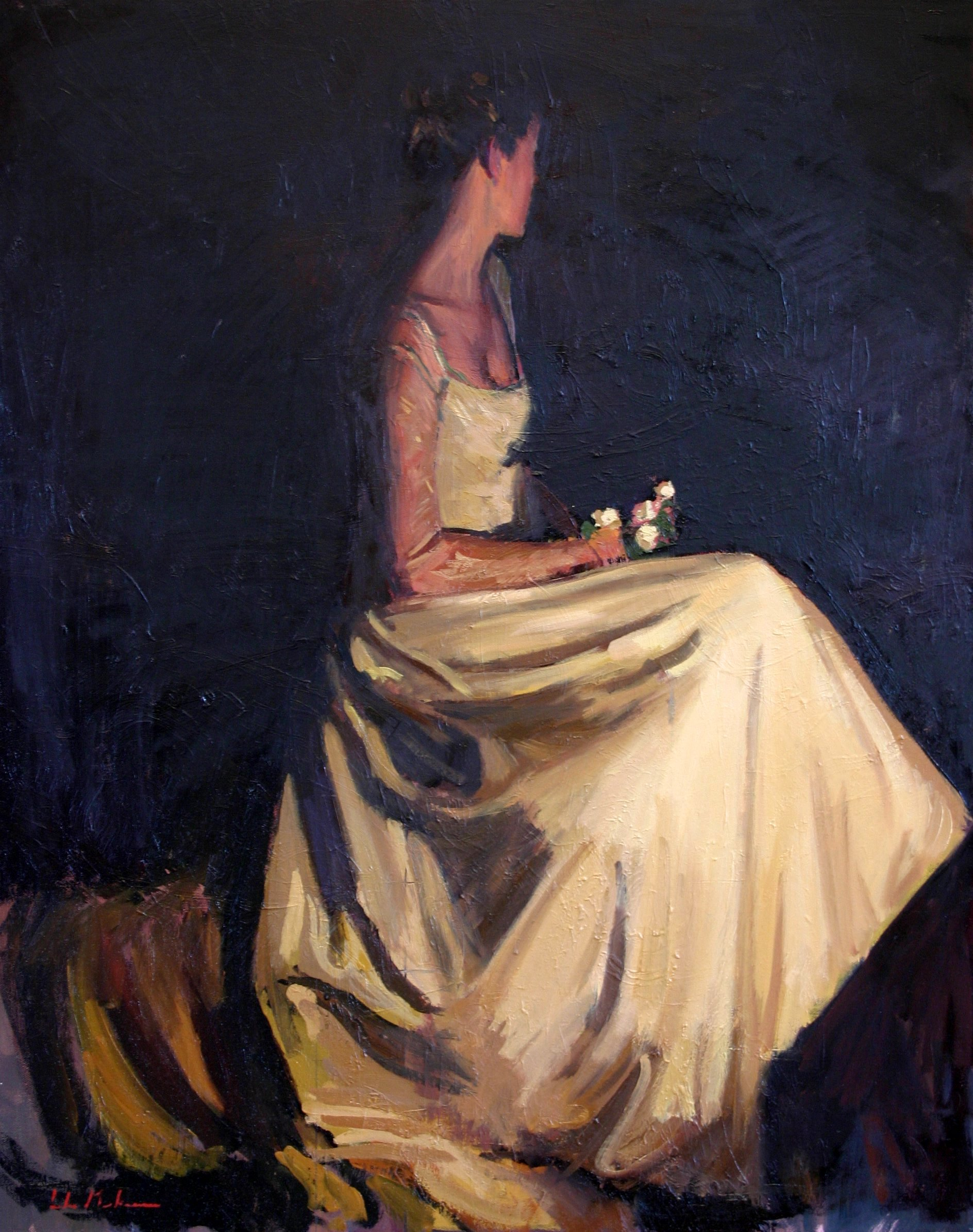 The Bride 2006 Oil on canvas 30x24in