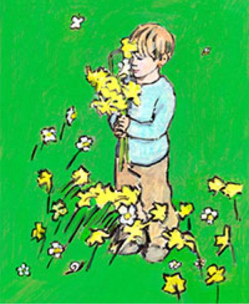 Boy Spring Limited Edition A3 Print