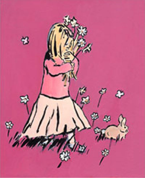 Girl Spring Limited Edition A3 Print